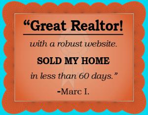 great realtor testimonial from satisfied customer