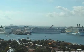 port everglades webcam with cruise ships