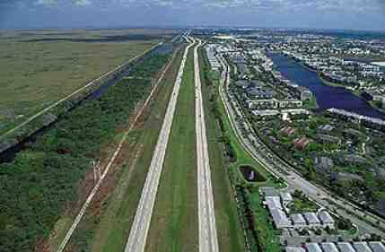 sawgrass expressway western edge of broward county